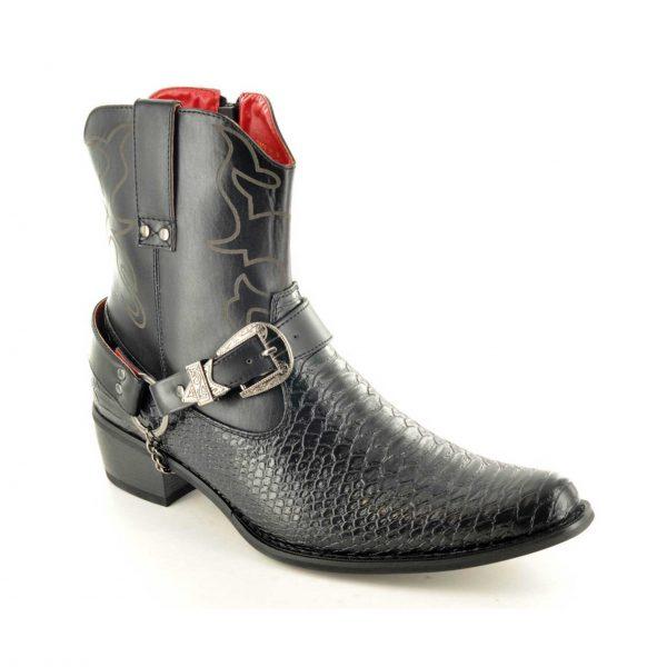 men's-western-ankle boots-gucianiexpress.com
