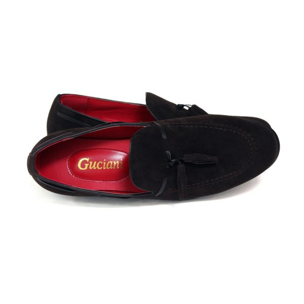Guciani Men's Leather Looks Suede-69