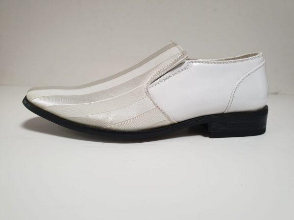Italian-style-white-gold cream-shoe