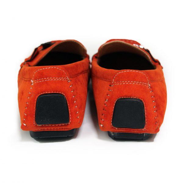 Loafers Shoes for Men 3811 Orange-10