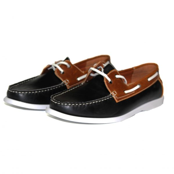 Mens Smart Casual Summer Lace Up Boat & Deck Shoes Loafers Faux Suede & Nu-buck Leather Loafer Shoes 7273-1 Red/Blue Suede