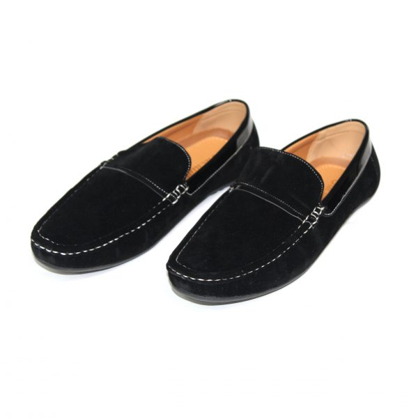 Guciani Men's Classic Original Suede Leather Penny Loafers Comfort Driving Shoes Slip-on Flats Moccasin Guciani-SE-10