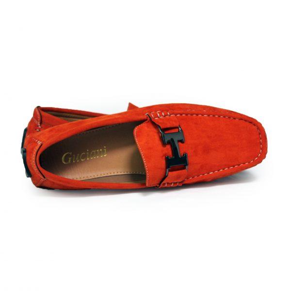 Loafers Shoes for Men 3811 Orange-13