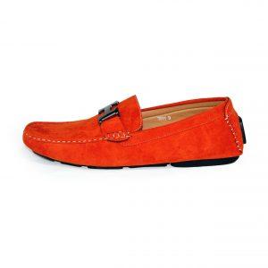 Loafers Shoes for Men 3811 Orange-9